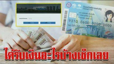 Photo of เช็กเลย แค่ใส่หมายเลขบัตรประจำ ตัวประชาชน จะรู้ว่าได้รับสิทธิ์อะไรบ้าง