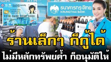Photo of สินเชื่อ กรุงไทย SME ร้านเล็ก ก็กู้ได้ จ่ายดี มีลด ไม่ต้องใช้หลักทรัพย์ค้ำ