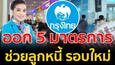 Photo of กรุงไทย ออก 5 มาตรการ ช่วยเหลือลูกหนี้ทุกกลุ่ม รอบใหม่