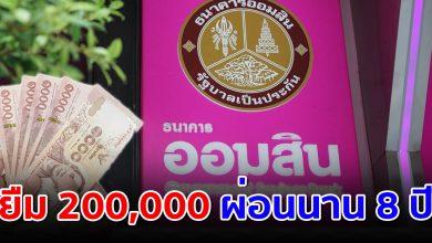 Photo of ผ่อนนาน 8 ปี ออมสิน ให้ยืมไปลงทุน ได้สูงสุด 200,000