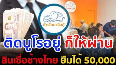 Photo of วิธีสมัคร ช้างไทยเงินกู้ ยืม 50, 0 00 ติดบูโร ก็กู้ได้